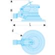 Levegős polírozógép  (D2)