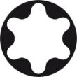 Torx kulcs készlet Imbusz kulcs forma