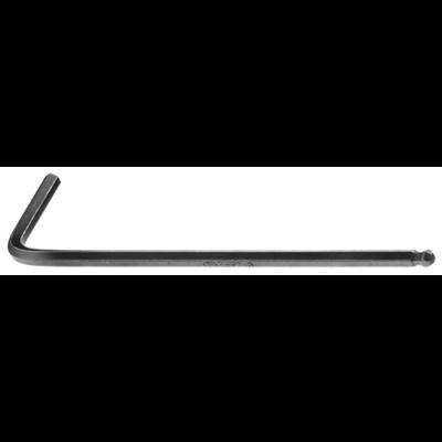 Hosszú imbusz kulcs gömbvégű 3 mm