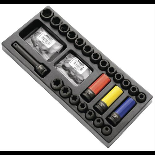 Üthető dugókulcs készlethez modul E041604 -hoz