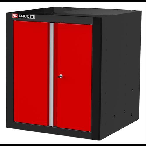 Álló szekrény zárt ajtós 810 mm
