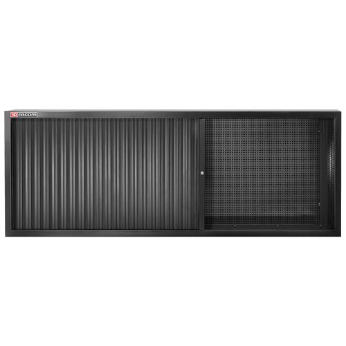 Felső szekrény redőnyös hosszú fekete