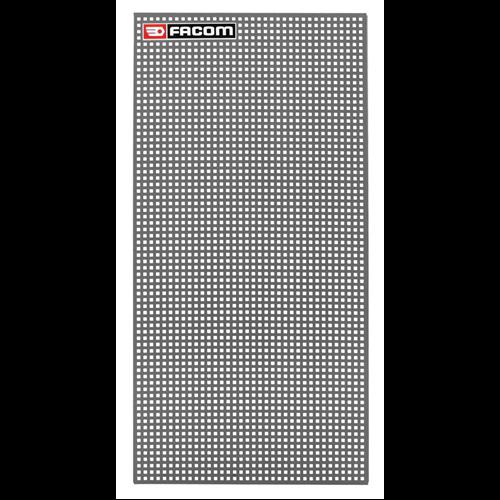 Szerszámtartó fal 444x888 szürke